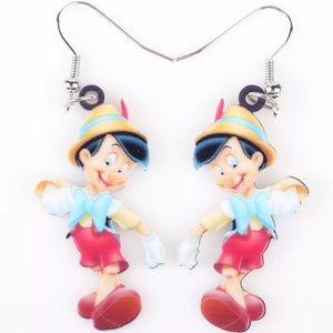 Pinocchio Acrylic Earrings